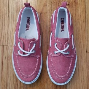 HP!!! NWOT - Boys GYMBOREE Red Boat Shoes